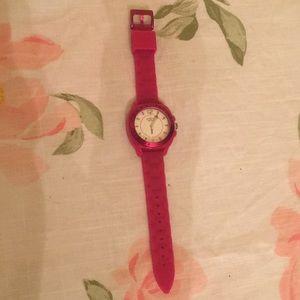 Coach pink sports watch